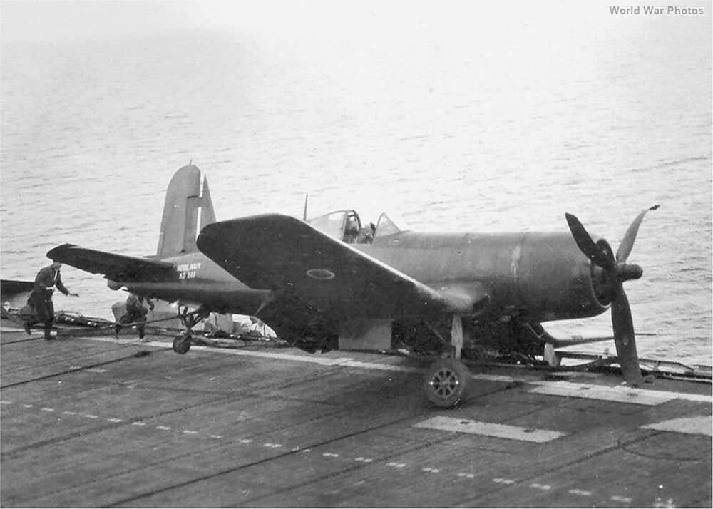 Corsair Mk IV FAA