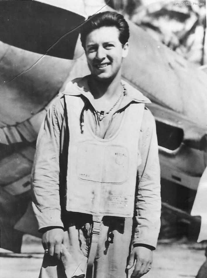 "Marine Ace Harold ""Murdeous Manny"" Segal of VMF-211 1944"