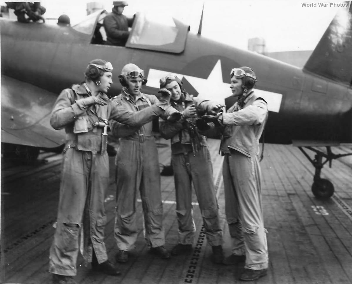 Corsair and Marine pilots of VB-82