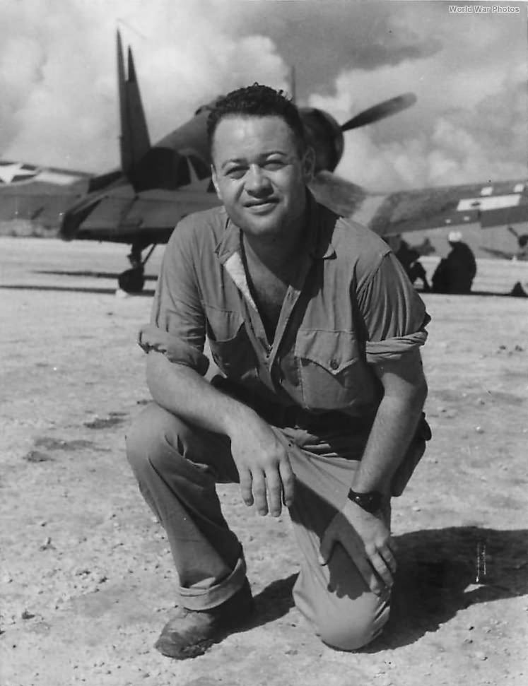 Pappy Boyington of Black Sheep Squadron Munda