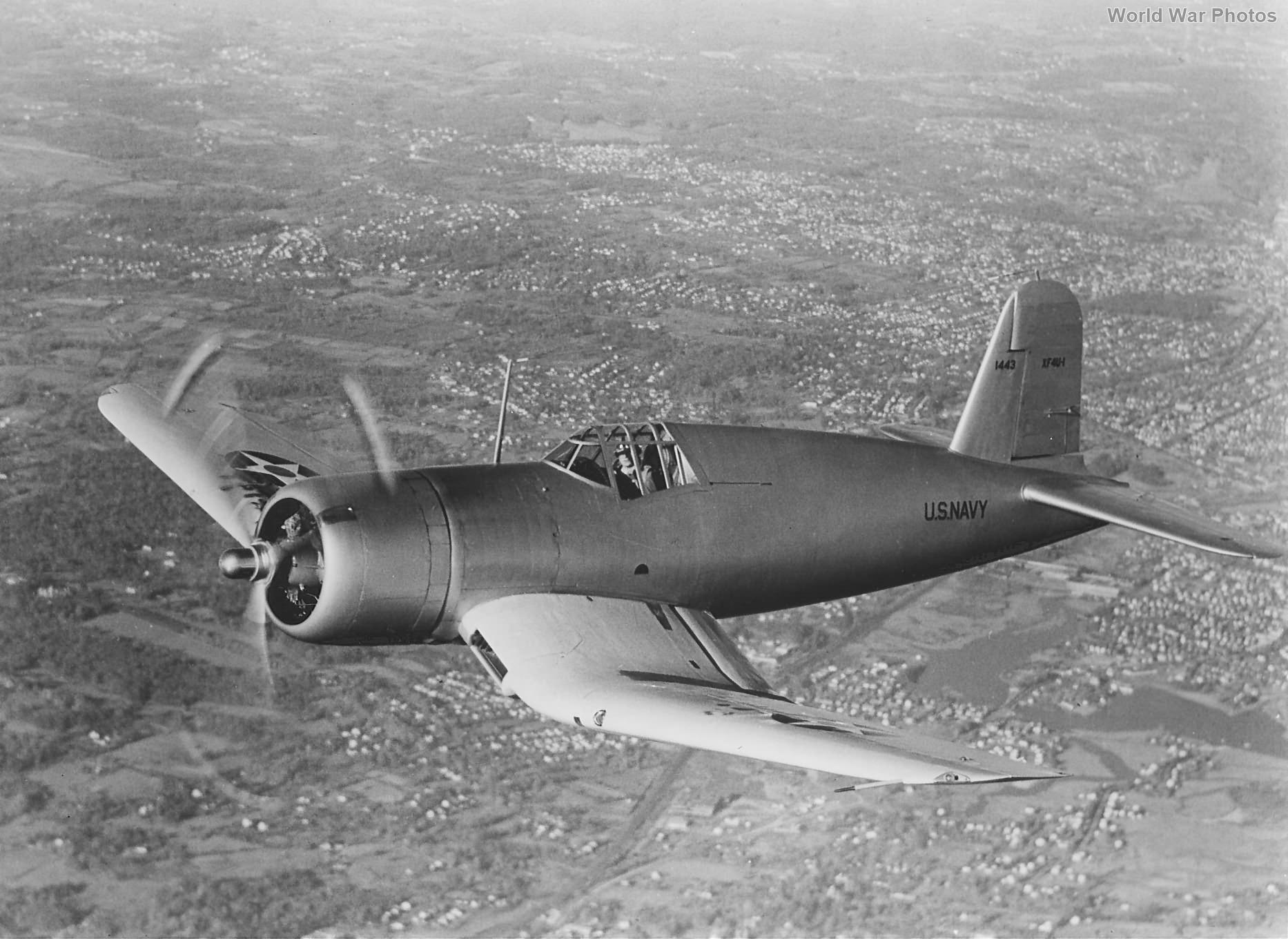 XF4U-1 Prototype