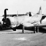 British F4U at Squantum January 12, 1944