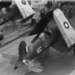 Damaged Corsair HMS Illustrious 21 June 1944