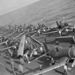 Corsairs aboard HMS Victorious June 1944