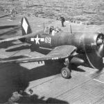 F4U-1D 69 aboard USS Franklin March 1945