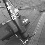 F4U-1D VF-85 USS Shangri-La dec 6 1944