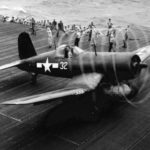 F4U-1D VMF-124 USS Essex December 28 1944
