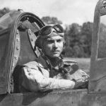 MIA Pilot Virgil Ray of VMF-214 in F4U