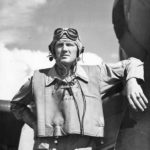 Marine Ace Lt Sheldon Hall of VMF-213 on Guadalcanal 1943