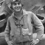 Marine Ace Pilot Don Fisher VMF-214 1943