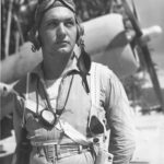 Marine pilot Donald Bush of VMF-212