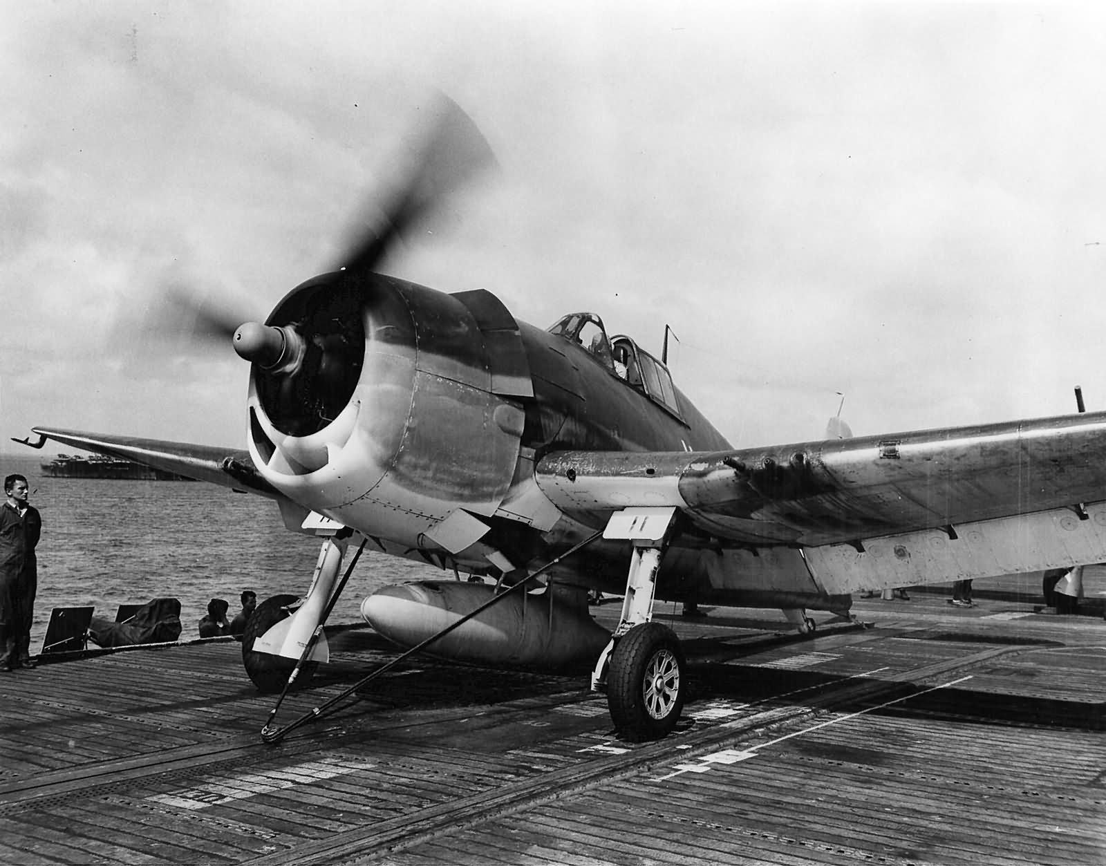 F6F-3_Hellcat_11_of_VF-2_on_the_catapult