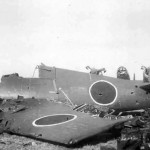 Captured Japanese F6F Hellcat E-801