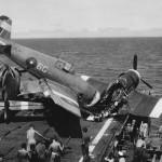 Crashed Hellcat Mk II JW723 6G