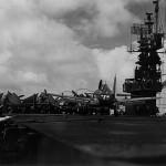 F6F-3 Hellcat light carrier USS Cabot CVL-28 July 19, 1944