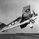 F6F-3 Hellcat of VF-6 light carrier USS Princeton (CVL-23) September 9, 1943
