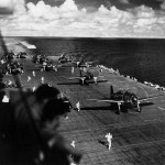 F6F-3 Hellcats of VF-8 on board the carrier USS Intrepid CV-11 – October 1943