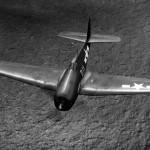 F6F-5 D11 in flight