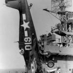 F6F-5 Hellcat D19 of VF-22 USS Takanis Bay CVE-89 July 30, 1945