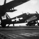 F6F-5 Hellcats of VF-45 carrier USS San Jacinto CVL-30 – March 21, 1945