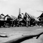 F6F-5 Hellcats of VF-45 on board the light carrier San Jacinto CVL-30 – March 18, 1945