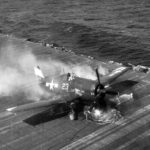 F6F-5 Hellcat white 23 from VF-9 USS Lexington (CV-16) – 25 February 1945 2
