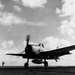 F6F Hellcat 35 of VF-6 on board the carrier USS Intrepid (CV-11) February 1, 1944