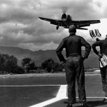 F6F Hellcat Landing Practice Hawaii July 26, 1945