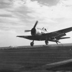 F6F Hellcat Mk II landing on HMS Ameer