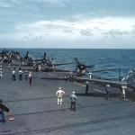 F6F Hellcats color photo