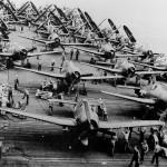 F6F Hellcats USS Franklin CV-13 October 1944
