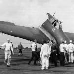 F6F after crash landing