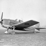 Hellcat Mk I FN327 at RAF Station Wittering.