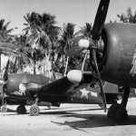 VMF(N)-451 F6F-5N Hellcats Falalop Island in Ulithi Atoll on May 30, 1945
