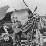 WASP Women test pilots and F6F Hellcats