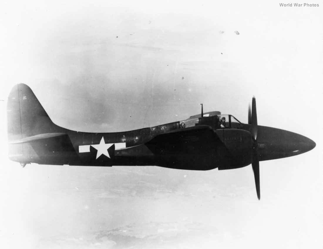 F7F-2N in flight
