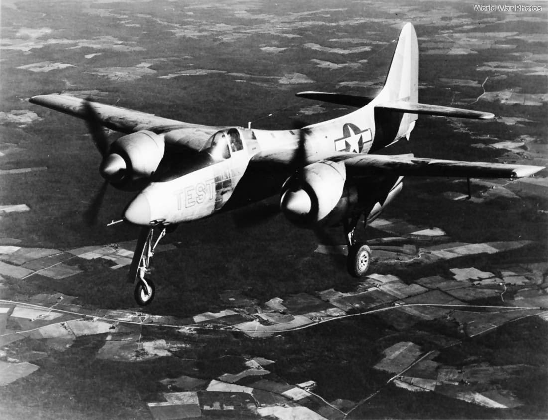 Grumman XF7F-1 23 December 1943