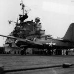 F7F-1 80291 aboard USS Shangri-La 15 November 1944