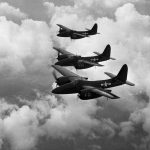 F7F-3 over Cherry Point January 1945