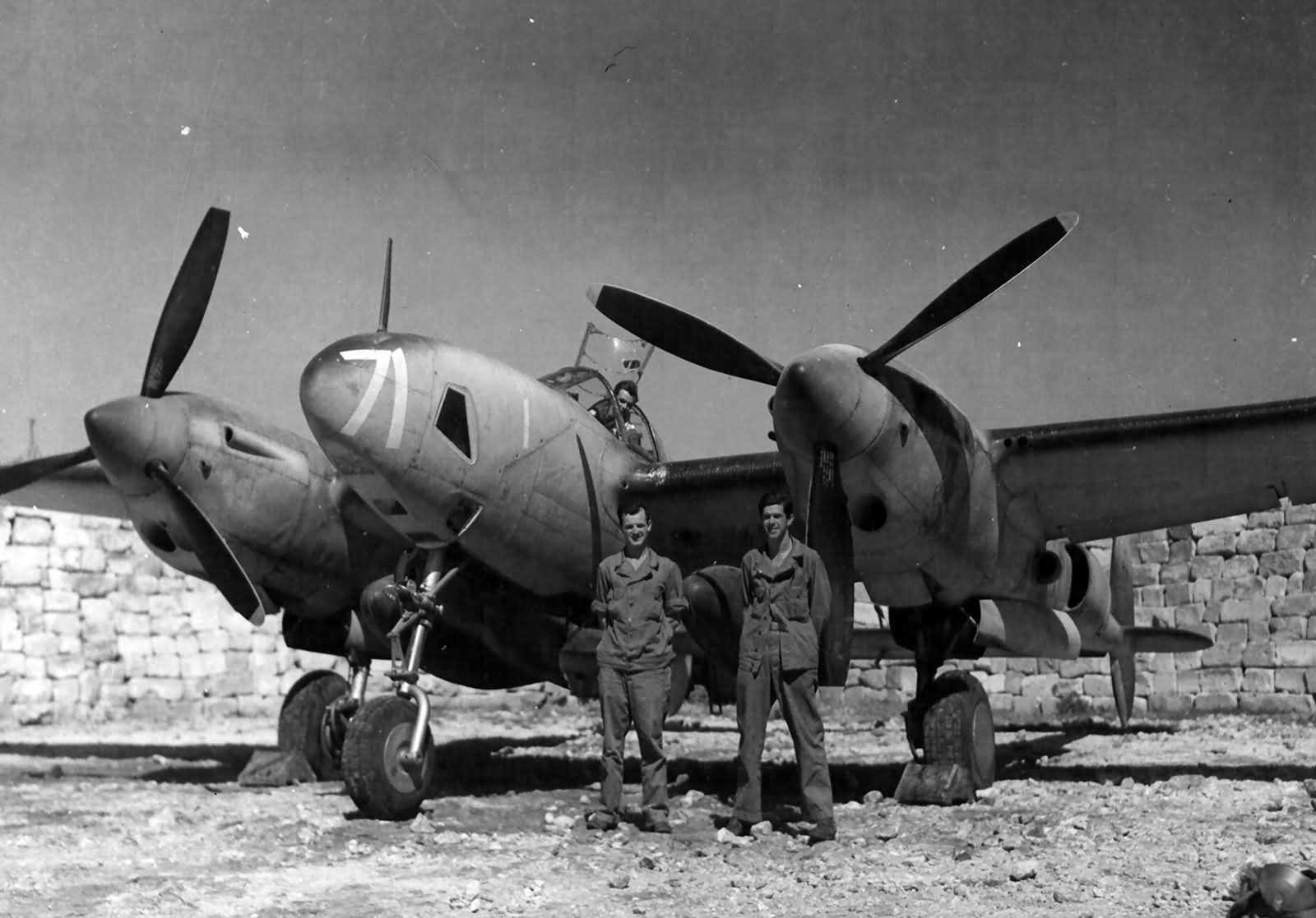 F-5 #71 of 90th Photographic Reconnaissance Wing North Africa
