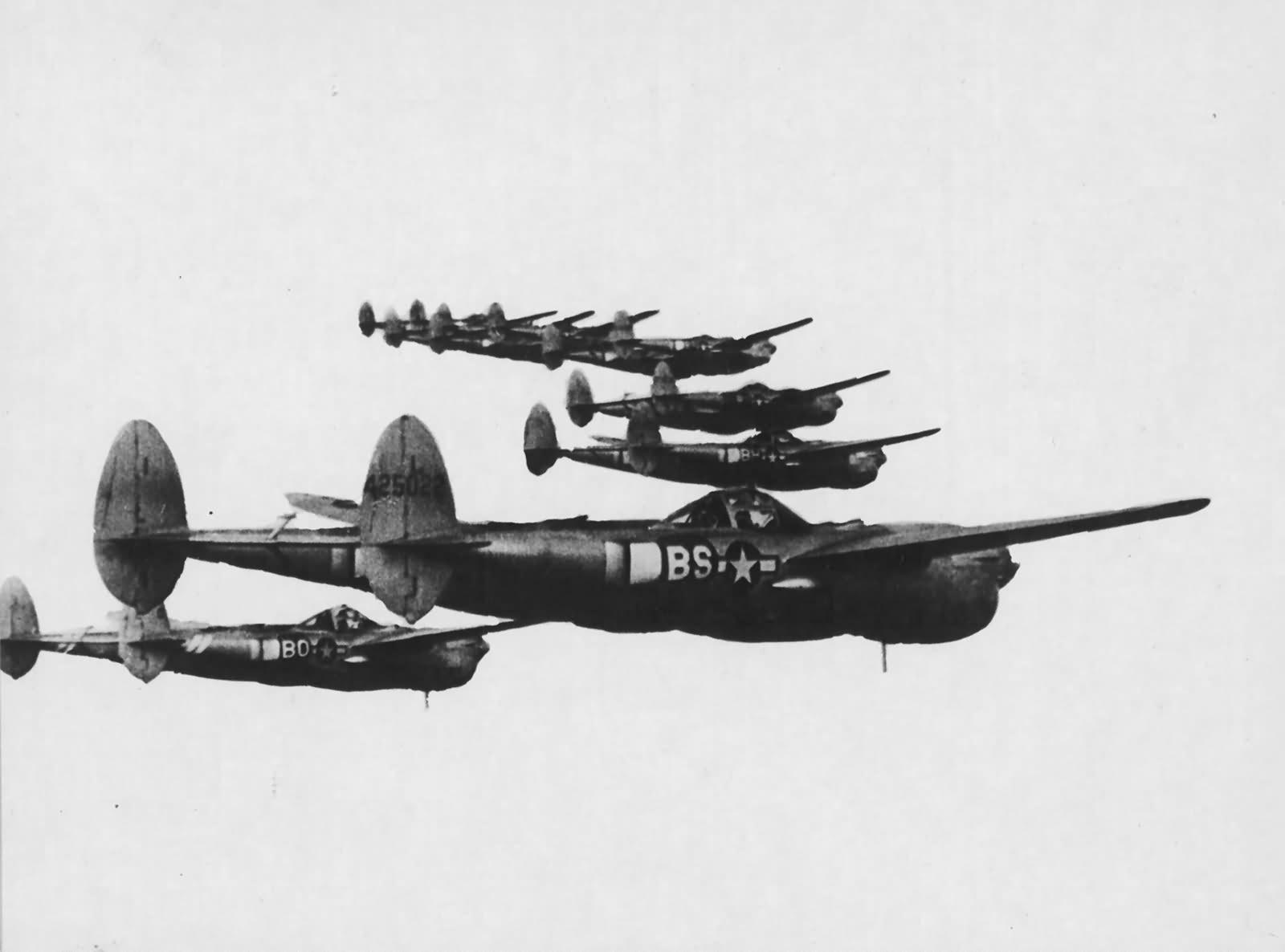 P 38 Lightning Tail