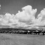 8th Photo Recon Squadron F-5 Line Clark Field Luzon