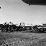 Assembly of P-38J Lightning 42-104252 at Maison Blanch Algeria March 1944