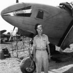 "Captain Frank W. Steinbach and his F-5E Lightning ""Natalie"" – 40th Photo Recon Squadron, CBI"