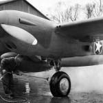 Early P-38 Lightning England
