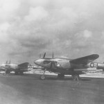 F-5E Lightnings Photograph Isley Field Saipan 1945