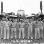 """F-5 Recon Lightning named """"MISS DIANA LU"""" of the 41st PRS. Guam 1945"""