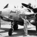 Lockheed F-5F pilot Lt Monroe 1944