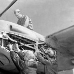 Lockheed P-38F Lightning engine Africa