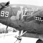 Lockheed P-38H Lightning 49th FG Nose Art Beautiful Lass 99